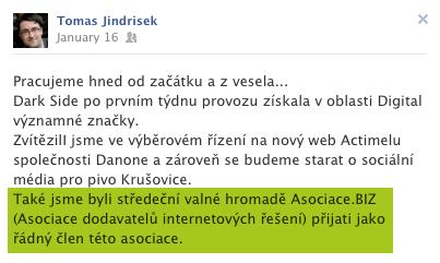 Tomáš Jindříšek a Dark Side